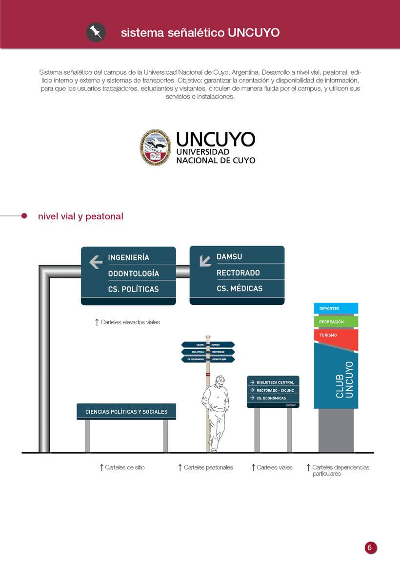 Proyecto Sistema Señalético Campus UNCUYO 1