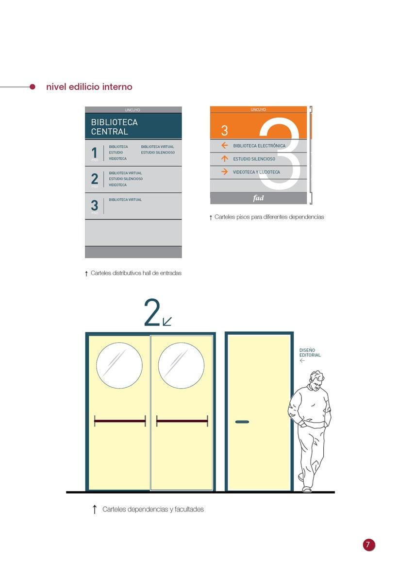 Proyecto Sistema Señalético Campus UNCUYO 7