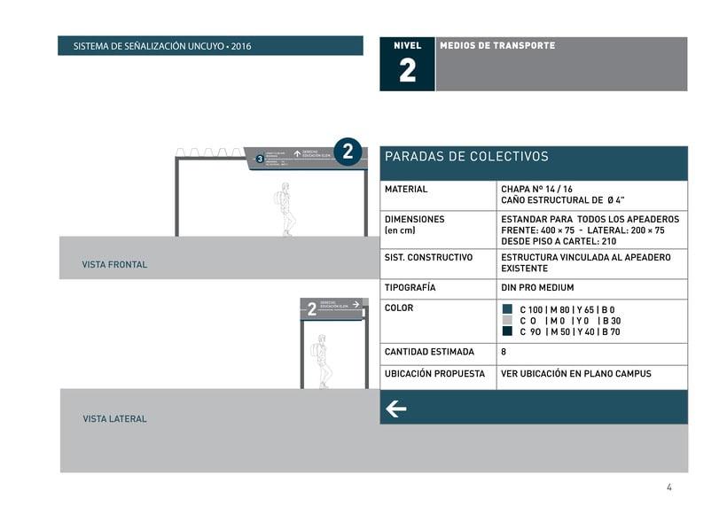 Proyecto Sistema Señalético Campus UNCUYO 3