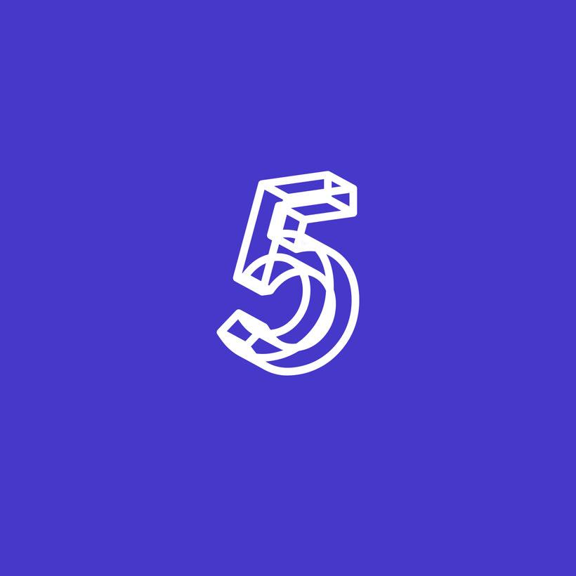 36 Days of Type 2017. Monocromatico 8