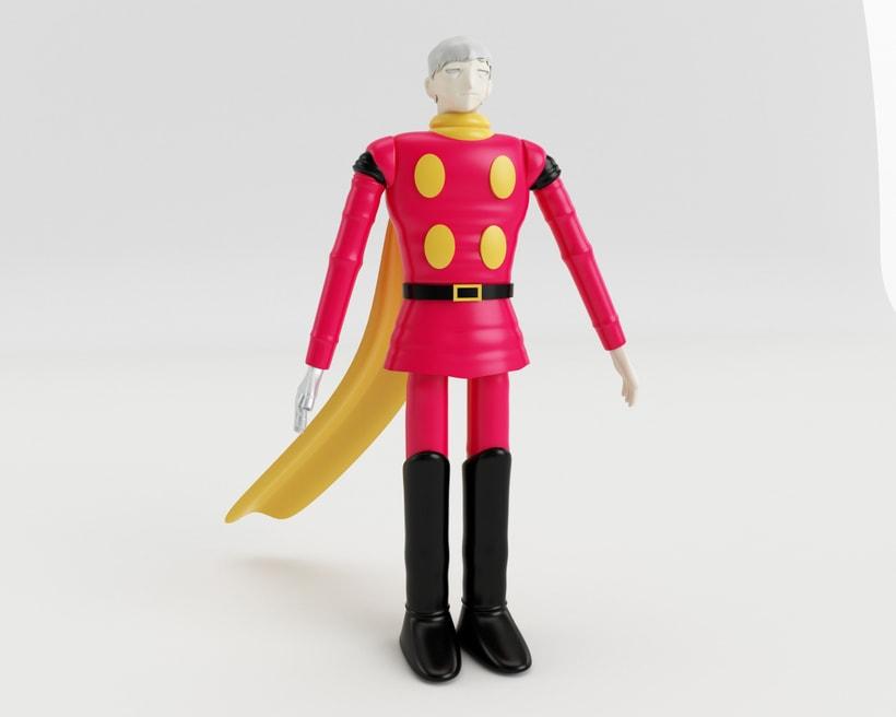 004 : Diseño de personajes en Cinema 4D: del boceto a la impresión 3D 0