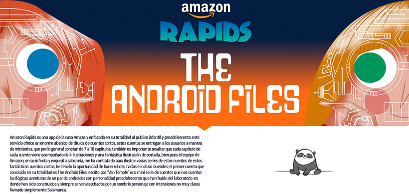 AMAZON RAPIDS - THE ANDROID FILES 0
