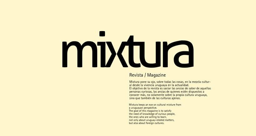 Revista Mixtura 0