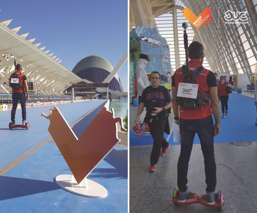 360 Experience. Maratón Valencia 8