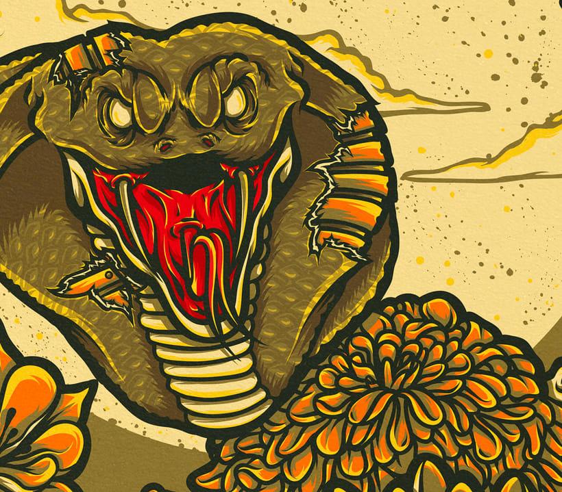 Cobra & Skull 7