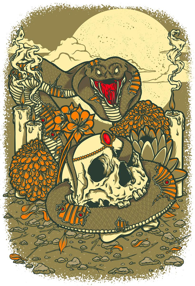 Cobra & Skull 3