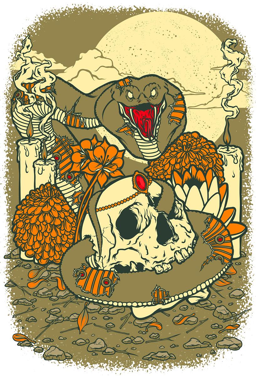 Cobra & Skull 2