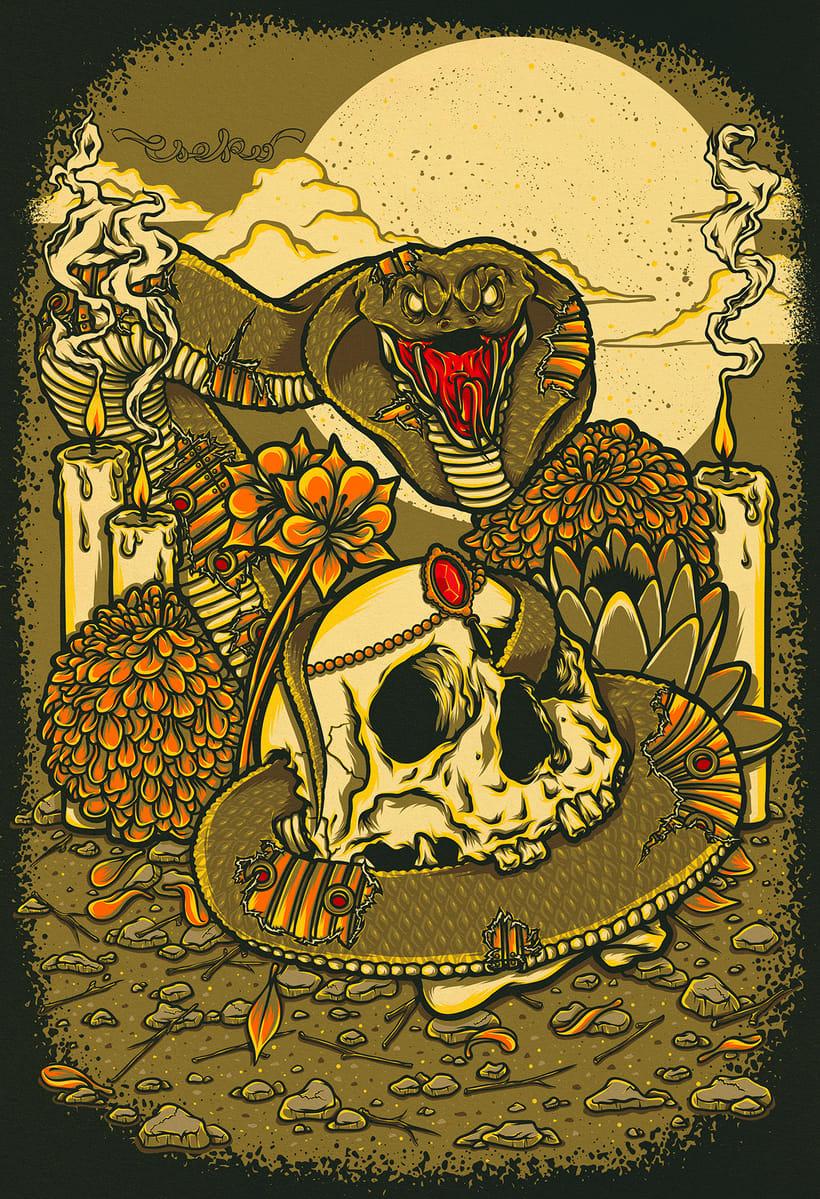 Cobra & Skull 4