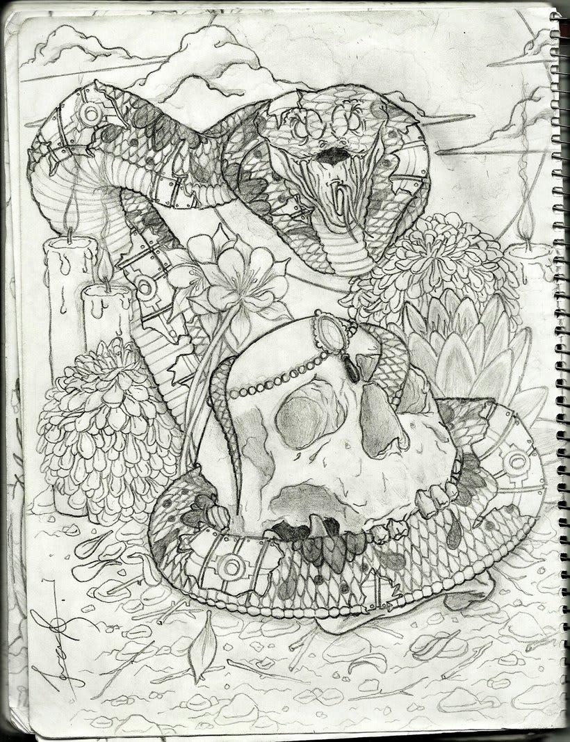 Cobra & Skull 0