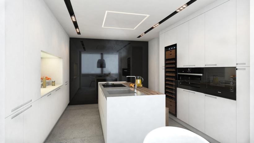 Diseño de vivienda Bº de Salamanca 1