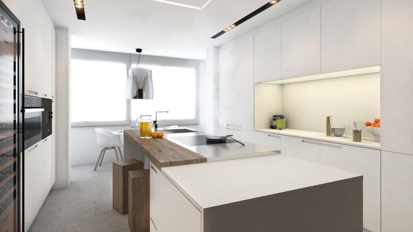 Diseño de vivienda Bº de Salamanca 0