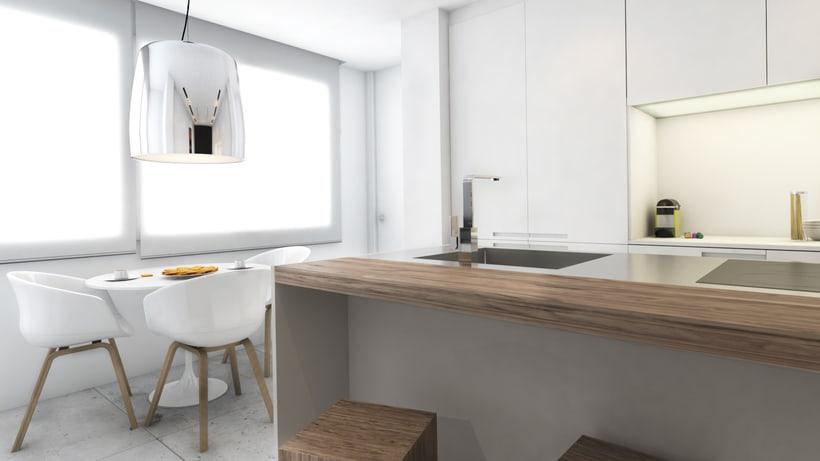 Diseño de vivienda Bº de Salamanca 2