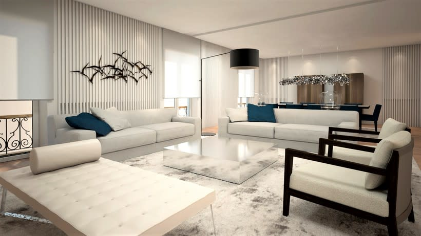 Diseño de vivienda Bº de Salamanca 3