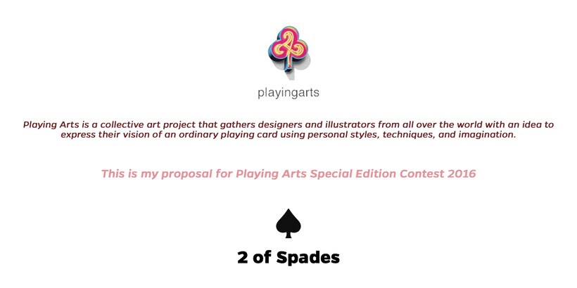 2 of Spades - Playing Arts 1