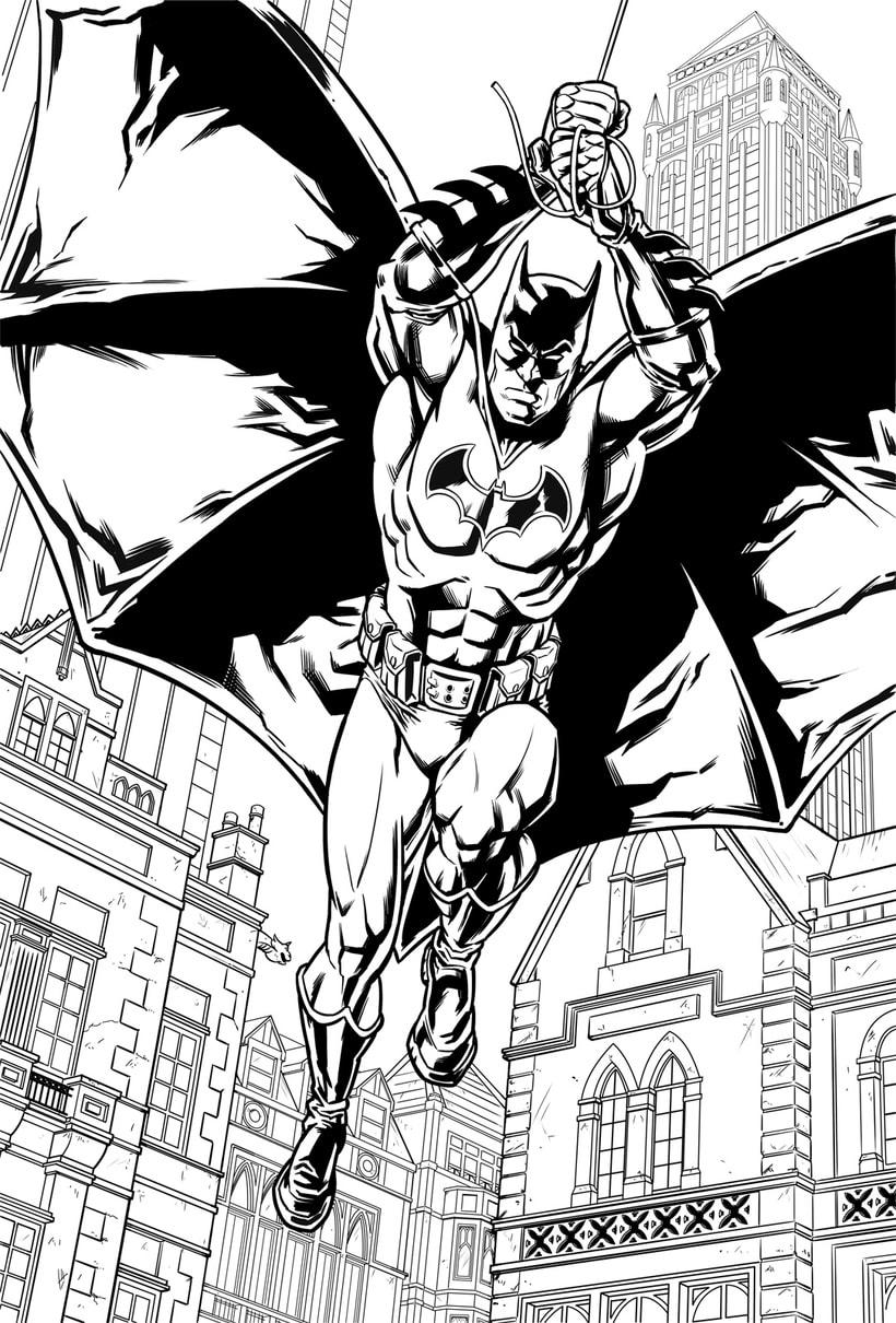 Batman Confidential: Rules of Engagement 1