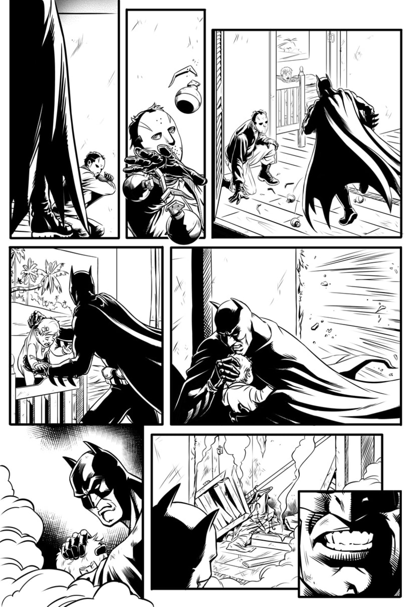 Batman Confidential: Rules of Engagement 6