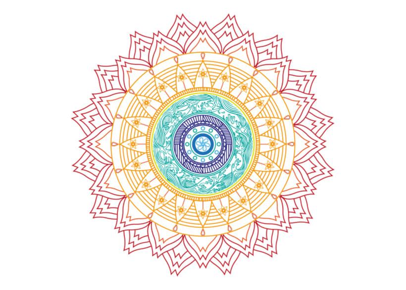 Ilustración Mandala 1
