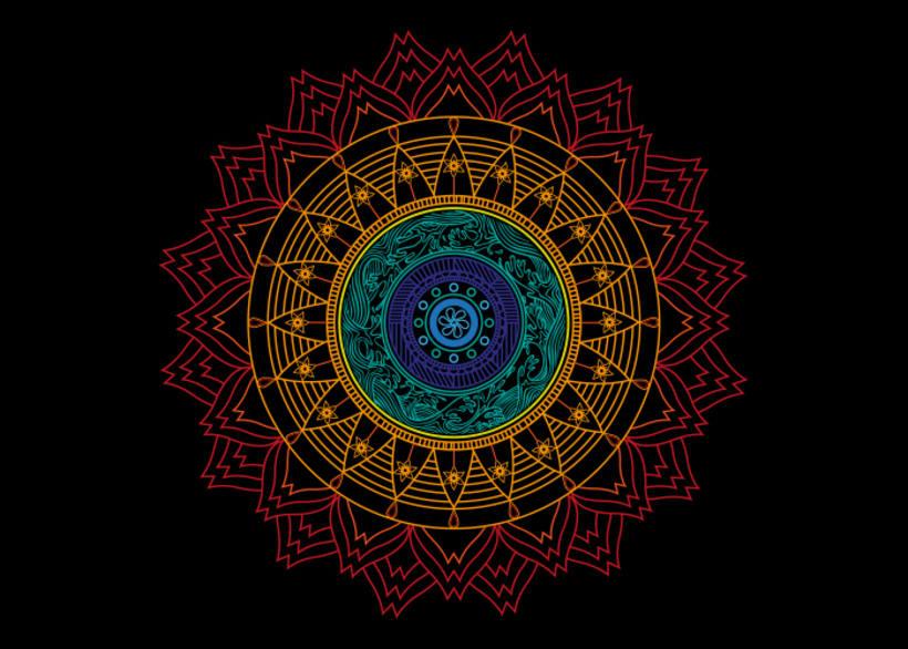 Ilustración Mandala 3