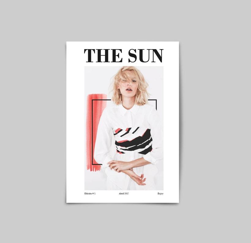 The Sun:  Introducción al Diseño Editorial -1