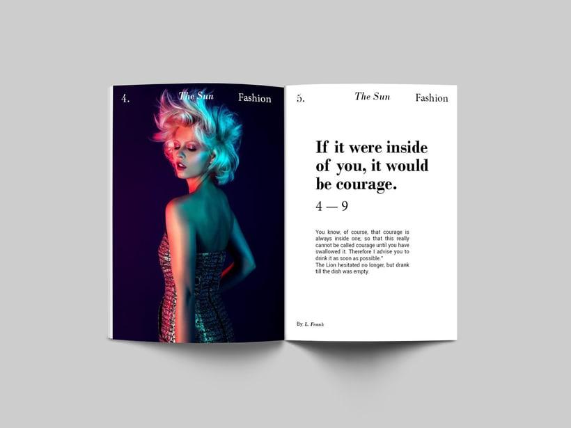 The Sun:  Introducción al Diseño Editorial 0