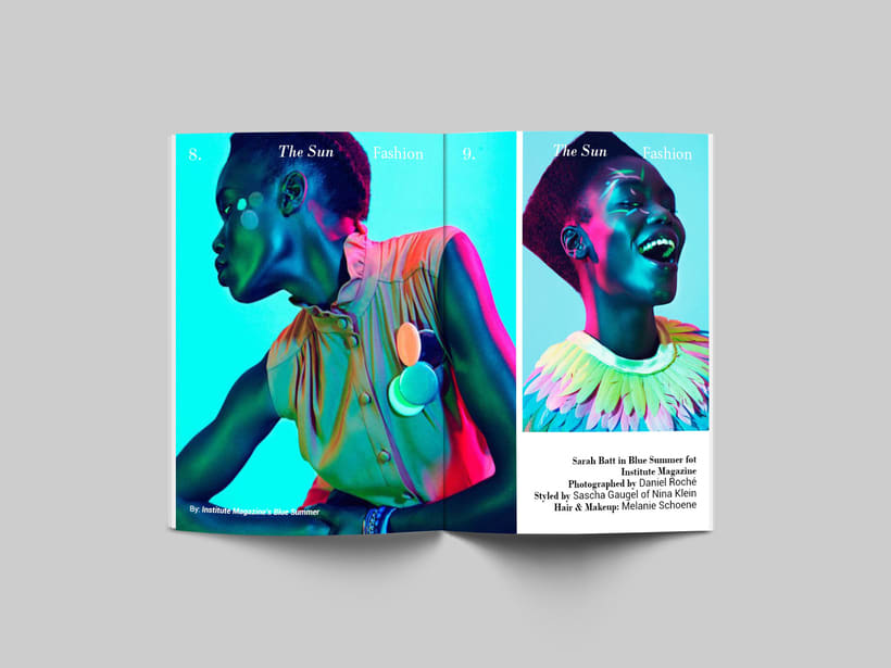 The Sun:  Introducción al Diseño Editorial 1