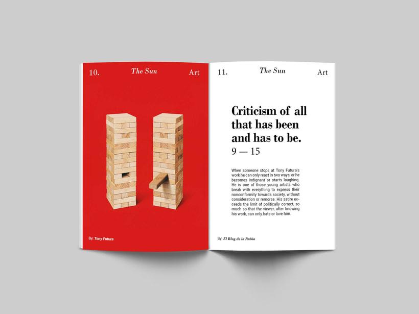 The Sun:  Introducción al Diseño Editorial 2