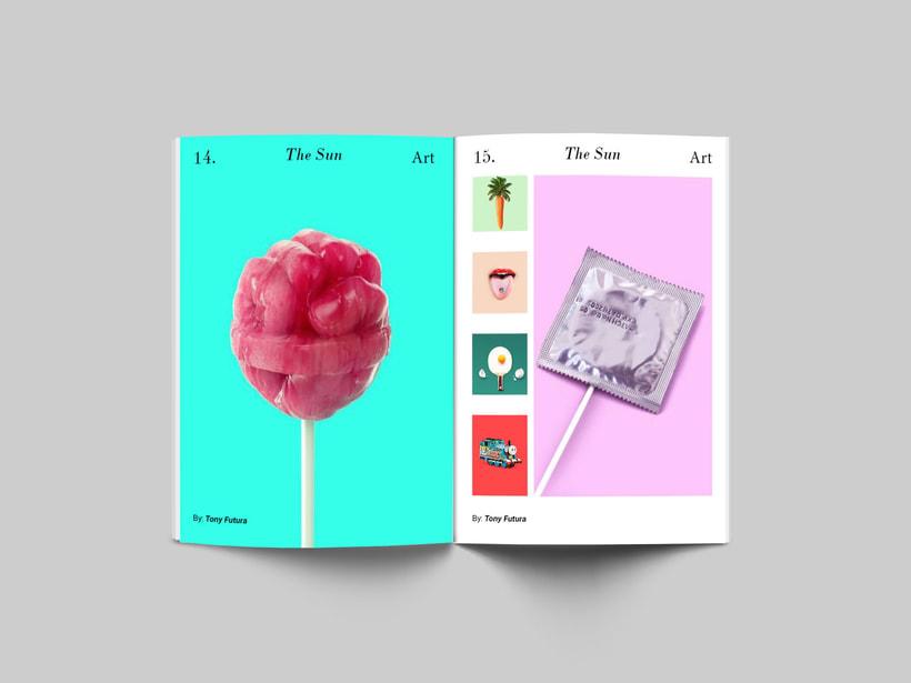 The Sun:  Introducción al Diseño Editorial 3