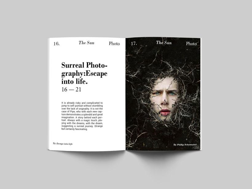 The Sun:  Introducción al Diseño Editorial 4
