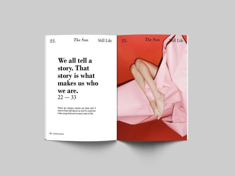The Sun:  Introducción al Diseño Editorial 5