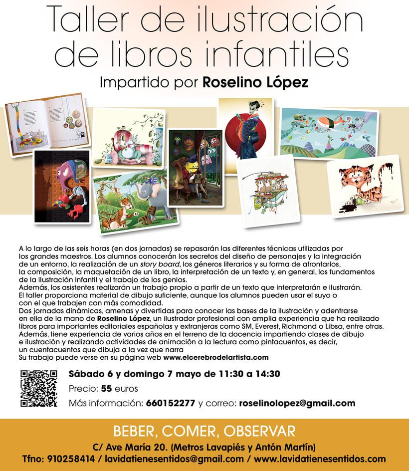 Taller de ilustración de libros infantiles. 1