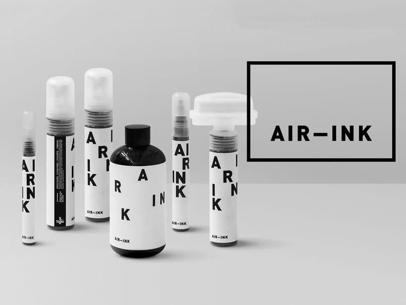 Air-ink: una tinta hecha con aire contaminado 3