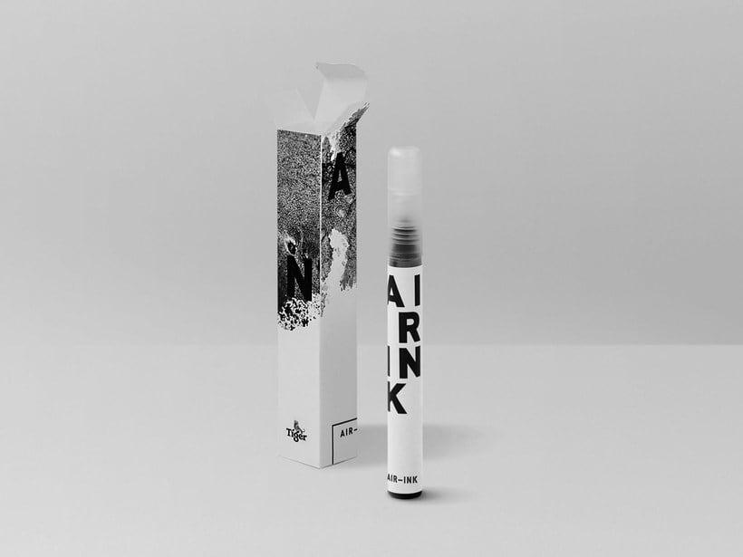 Air-ink: una tinta hecha con aire contaminado 10