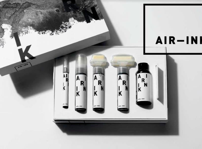 Air-ink: una tinta hecha con aire contaminado 12