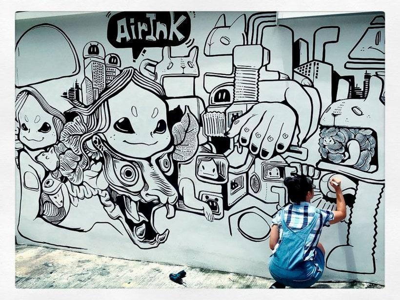 Air-ink: una tinta hecha con aire contaminado 15