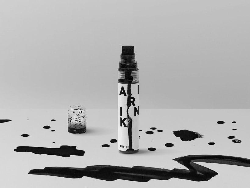 Air-ink: una tinta hecha con aire contaminado 16