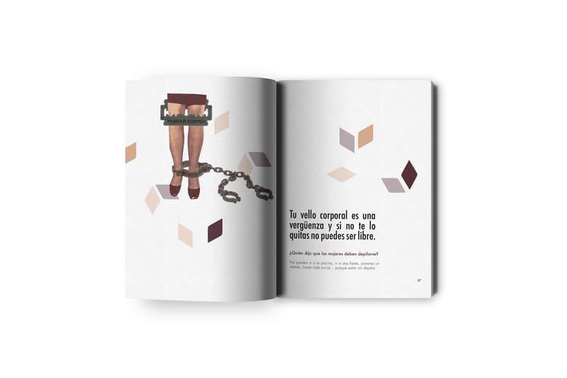 Proyecto editorial: Julieta micro - machismos 5