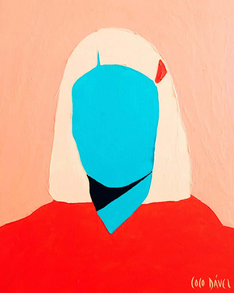 Los retratos sin cara de Coco Dávez 1