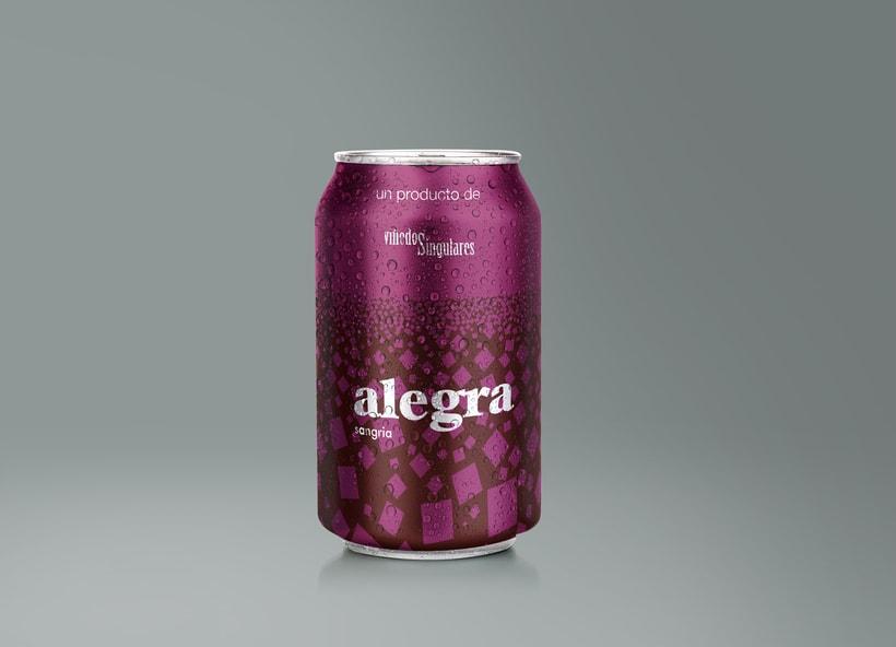 Alegra Sangria - Packaging 3