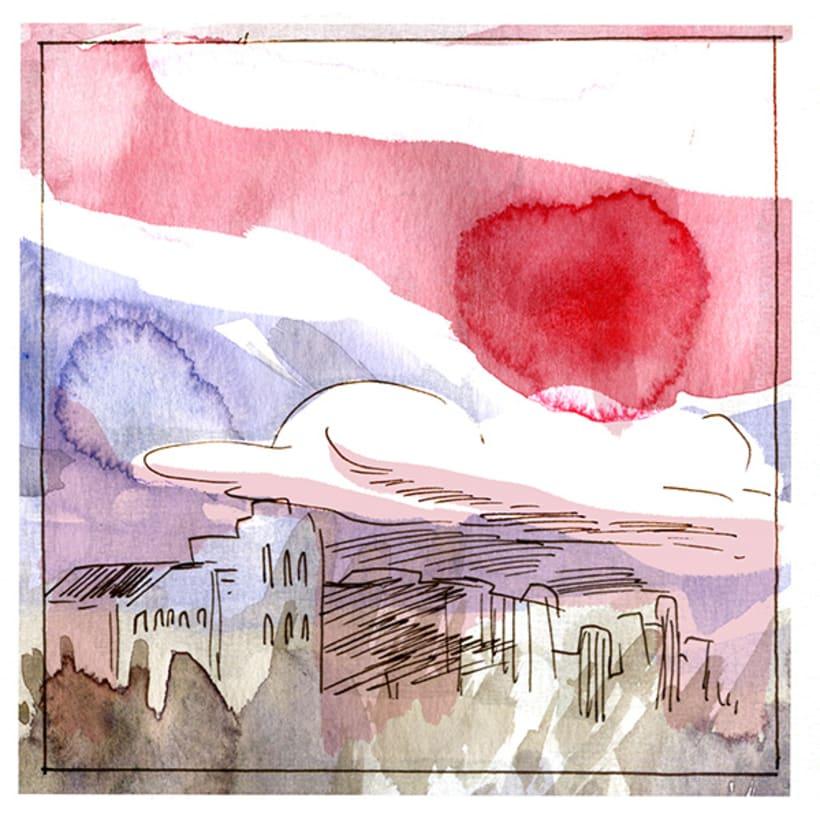 Logo & EP Cover Design (skecth & final art)  2