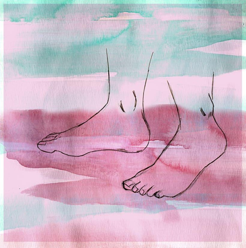 Logo & EP Cover Design (skecth & final art)  5