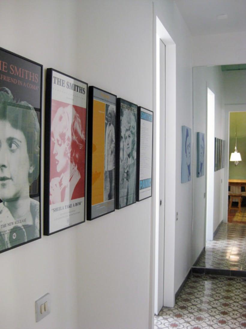 Rehabilitación de vivienda y diseño de mobiliario en Sants (2012) 1