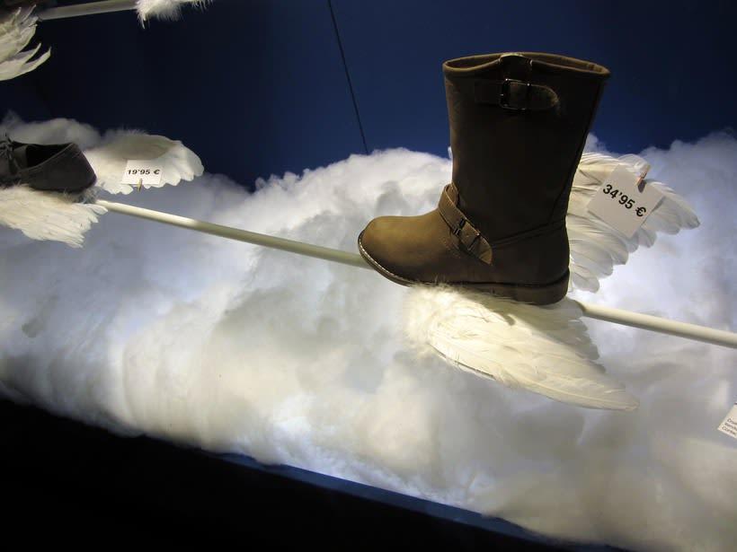 Proyecto de escaparatismo y visual merchandising en la zapatería Los Ángeles de Barcelona (2011) 3