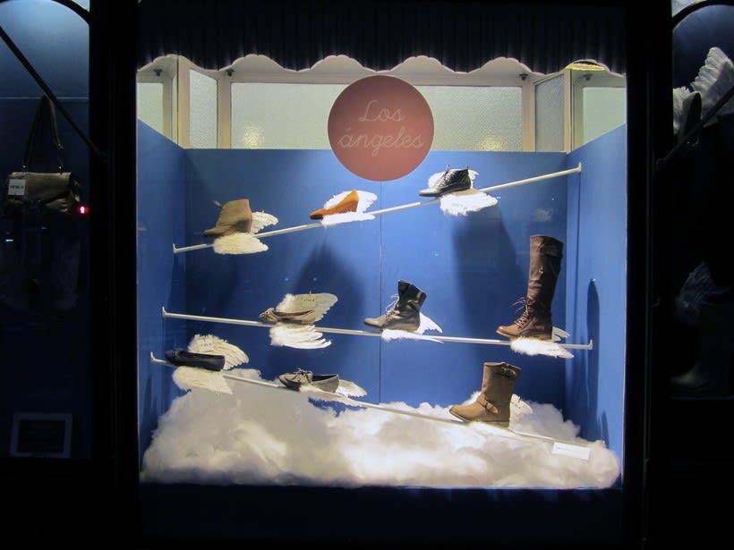 Proyecto de escaparatismo y visual merchandising en la zapatería Los Ángeles de Barcelona (2011) 0