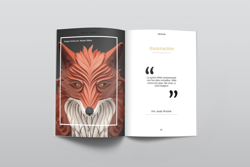 Inusual: Introducción al Diseño Editorial 5
