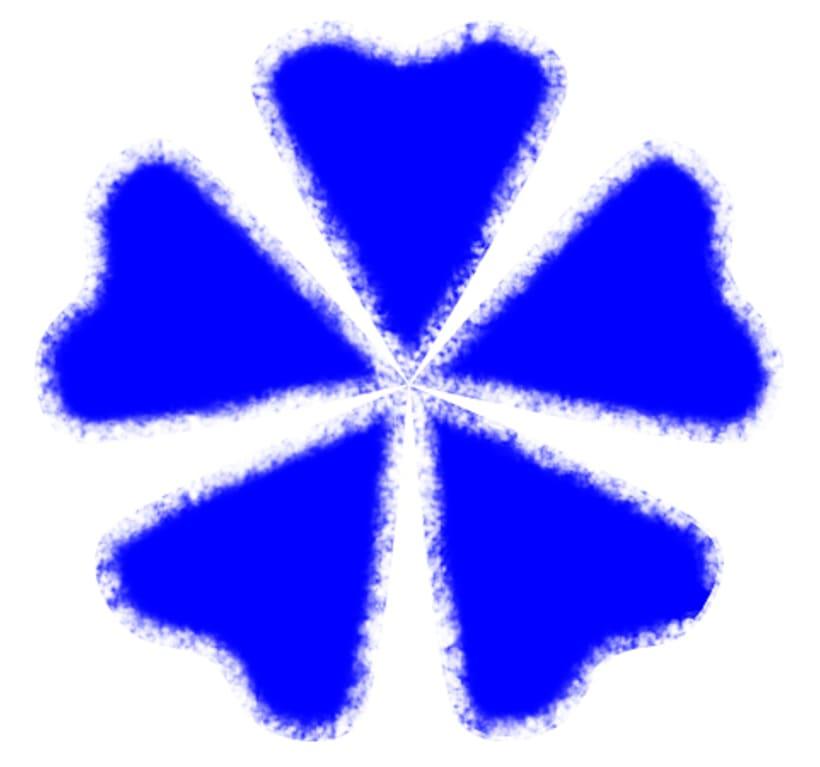 Photoshop: ¿cómo desdibujar contornos de un símbolo? 1