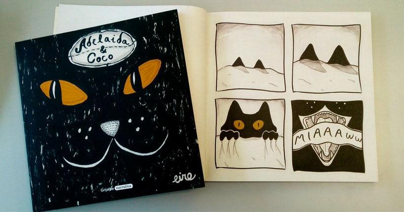 Adelaida & Coco, un cómic para amantes de los gatos 3
