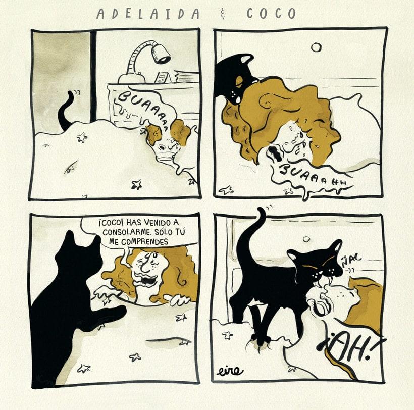 Adelaida & Coco, un cómic para amantes de los gatos 9