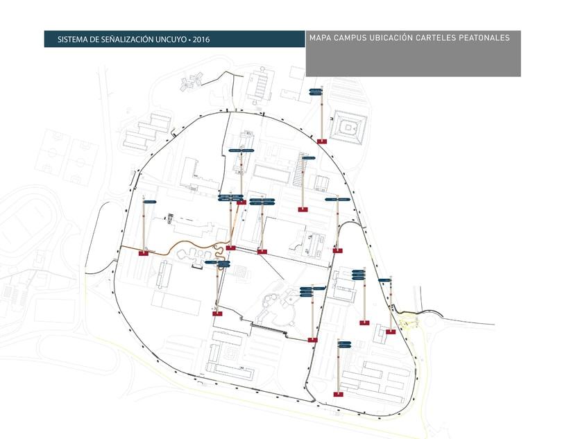 Proyecto Sistema Señalético Campus UNCUYO 5