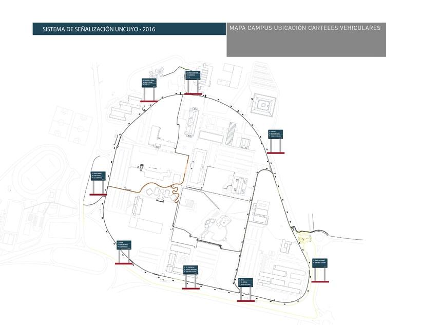 Proyecto Sistema Señalético Campus UNCUYO 6
