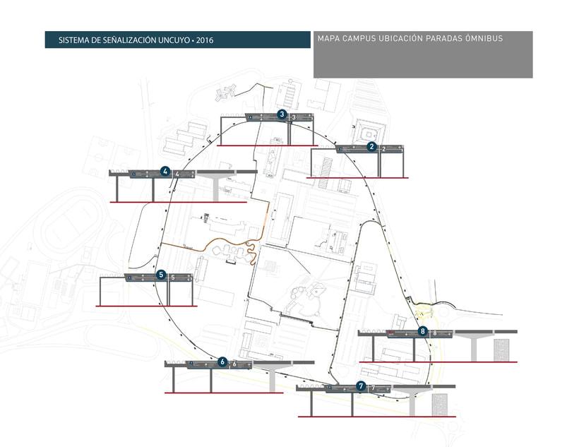 Proyecto Sistema Señalético Campus UNCUYO 4